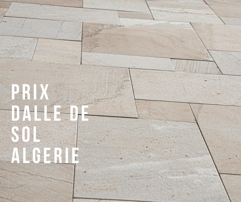 Prix Dalle De Sol Algerie Cout Pose Au M2 Guide D Achat 2020 Compacto