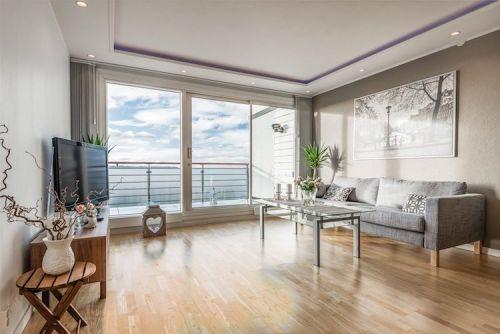 Plafond Moderne Plafond Suspendu Corniche Lumineuse Spots Led Salon Blanc Gris